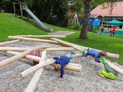Kletterdreieck Garten : Kindergartenverein degerndorf brannenburg e.v.